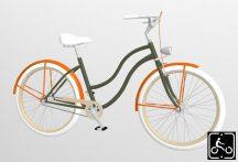 Egyedi-Noi-Luxury-Cruiser-bicikli-Olivazold-3