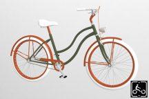 Egyedi-Noi-Luxury-Cruiser-bicikli-Olivazold-4