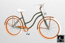 Egyedi-Noi-Luxury-Cruiser-bicikli-Olivazold-6