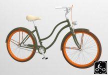 Egyedi-Noi-Luxury-Cruiser-bicikli-Olivazold-8