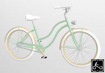 Egyedi-Noi-Luxury-Cruiser-bicikli-Menta-1
