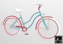 Egyedi-Noi-Luxury-Cruiser-bicikli-Turkiz