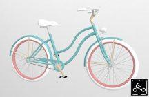 Egyedi-Noi-Luxury-Cruiser-bicikli-Turkiz-1