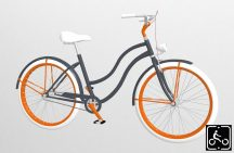 Egyedi-Noi-Luxury-Cruiser-bicikli-Grafit-1