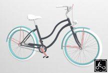 Egyedi-Noi-Luxury-Cruiser-bicikli-Grafit-2