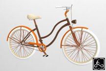 Egyedi-Noi-Luxury-Cruiser-bicikli-Barna