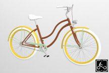 Egyedi-Noi-Luxury-Cruiser-bicikli-V.barna