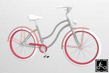 Egyedi-Noi-Luxury-Cruiser-bicikli-Ezust