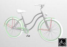 Egyedi-Noi-Luxury-Cruiser-bicikli-Ezust-1