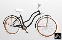 Egyedi-Noi-Luxury-Cruiser-bicikli-Fekete8