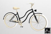 Egyedi-Noi-Luxury-Cruiser-bicikli-Fekete9