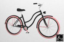 Egyedi-Noi-Luxury-Cruiser-bicikli-Fekete11