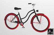 Egyedi-Noi-Luxury-Cruiser-bicikli-Fekete12