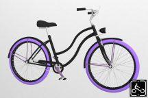 Egyedi-Noi-Luxury-Cruiser-bicikli-Fekete13
