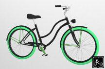Egyedi-Noi-Luxury-Cruiser-bicikli-Fekete14