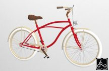 Egyedi-Ferfi-Luxury-Cruiser-Piros-