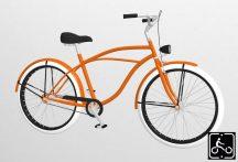Egyedi-ferfi-Luxury-Cruiser-kerekpar-Narancs-