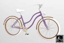 Egyedi-Noi-Luxury-Cruiser-bicikli-Lila