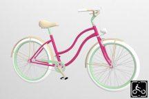 Egyedi-Noi-Luxury-Cruiser-bicikli-Pink