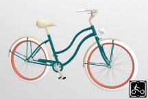 Egyedi-Noi-Luxury-Cruiser-bicikli-Fenyozold-1