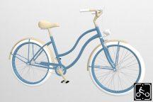 Egyedi-Noi-Luxury-Cruiser-bicikli-Vilagoskek