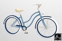 Egyedi-Noi-Luxury-Cruiser-bicikli-Vilagoskek-1