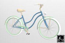 Egyedi-Noi-Luxury-Cruiser-bicikli-Vilagoskek-2