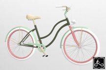 Egyedi-Noi-Luxury-Cruiser-bicikli-Olivazold