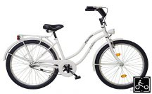 Koliken Cruiser Női kerékpár fehér