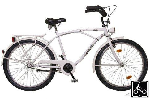 Koliken Cruiser Agyváltós Férfi kerékpár - fehér