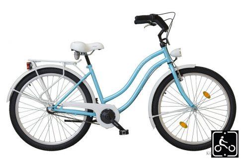 Koliken Cruiser Agyváltós Női kerékpár - világoskék
