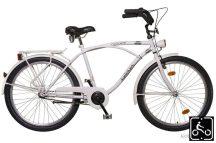 Koliken Cruiser Férfi kerékpár fehér