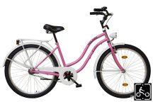 Koliken Cruiser Női kerékpár rózsaszín