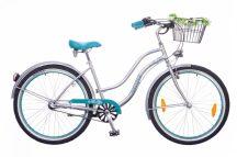 Neuzer-Picnic-noi-cruiser-bicikli- Ezust-turkiz