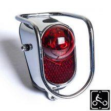 Hátsó lámpa sárvédőre Retró Cruiser kerékprához - Premium minőség - elemes