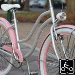Egyedi női cruiser kerékpár