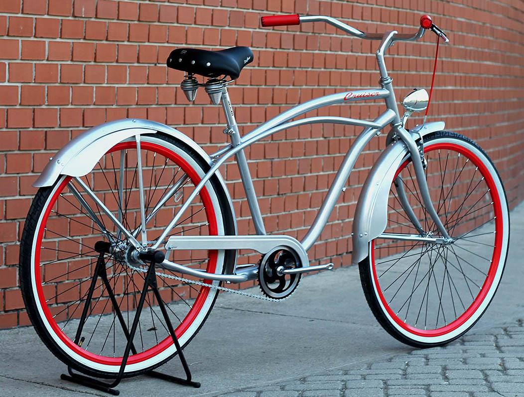"""Cruiser kerékpár 28"""""""